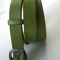 ceinture verte pleine fleur  tannage végétal