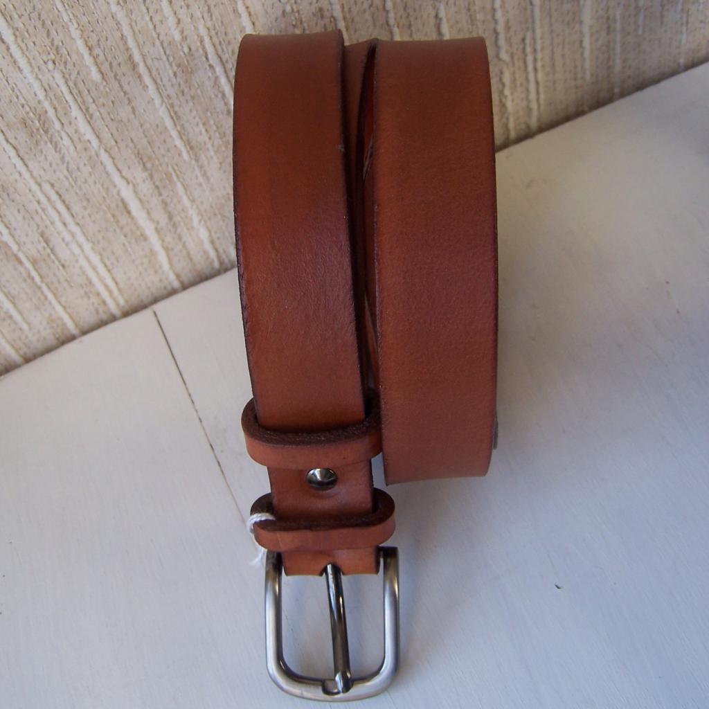 ceinture cuir mixte