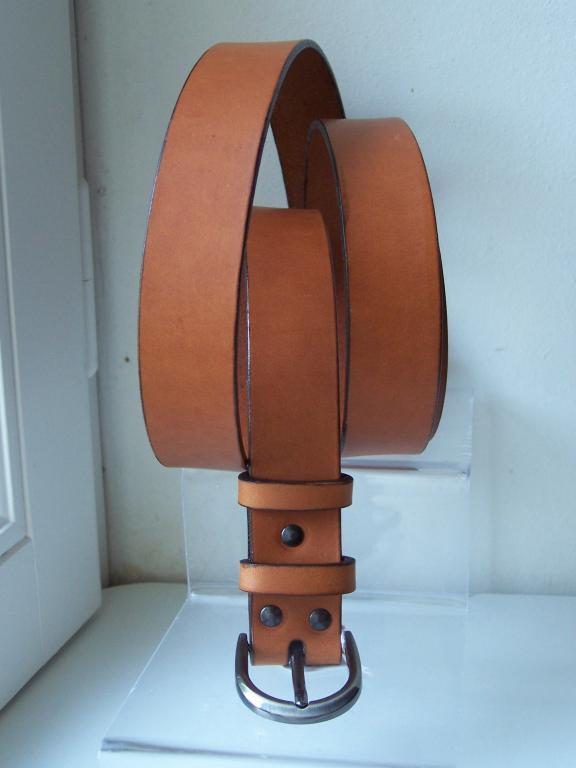 ceinture  3cm whisky  mixte