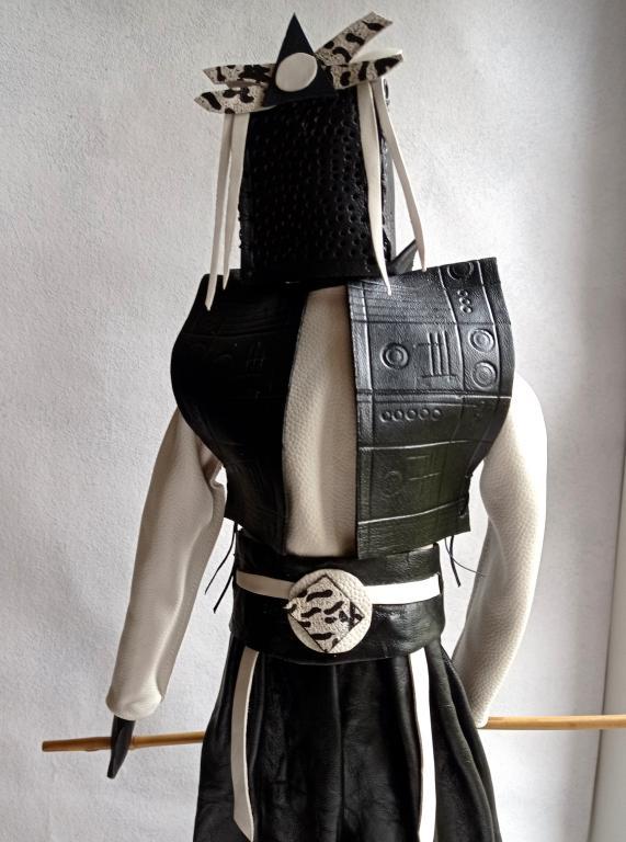 Samouraï blanc noir